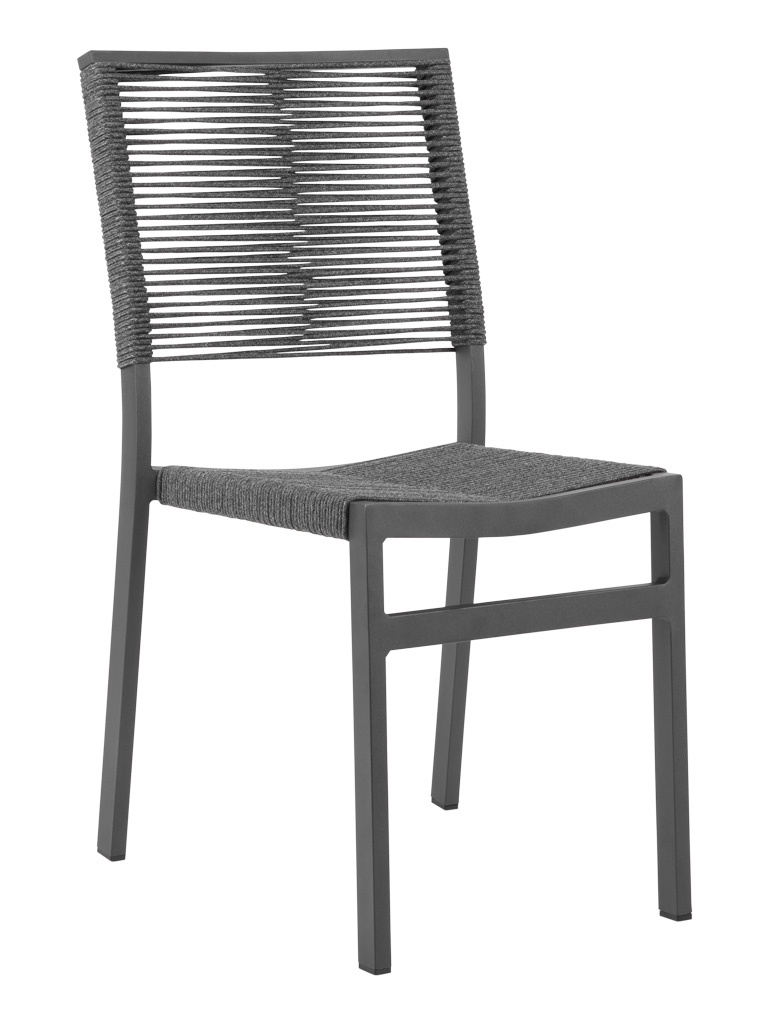 TAHITI ROP SIDE CHAIR-CHARCOAL RC2042-C $159.00 CLICK FOR SPEC SHEET