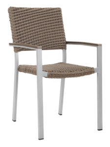 TAHITI WEAVE ARM CHAIR-SAND RC2043-S $169.00 CLICK FOR SPEC SHEET