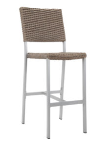 TAHITI WEAVE ARMLESS BAR STOOL-SAND RC2045-S $209.00 CLICK FOR SPEC SHEET