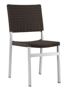 TAHITI WEAVE SIDE CHAIR-ESPRESSO RC2041-ESP $139.00 CLICK FOR SPEC SHEET