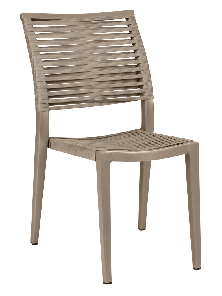 KEY WEST ROPE SIDE CHAIR-PEWTER RC2010-P $159.00 CLICK FOR SPEC SHEET