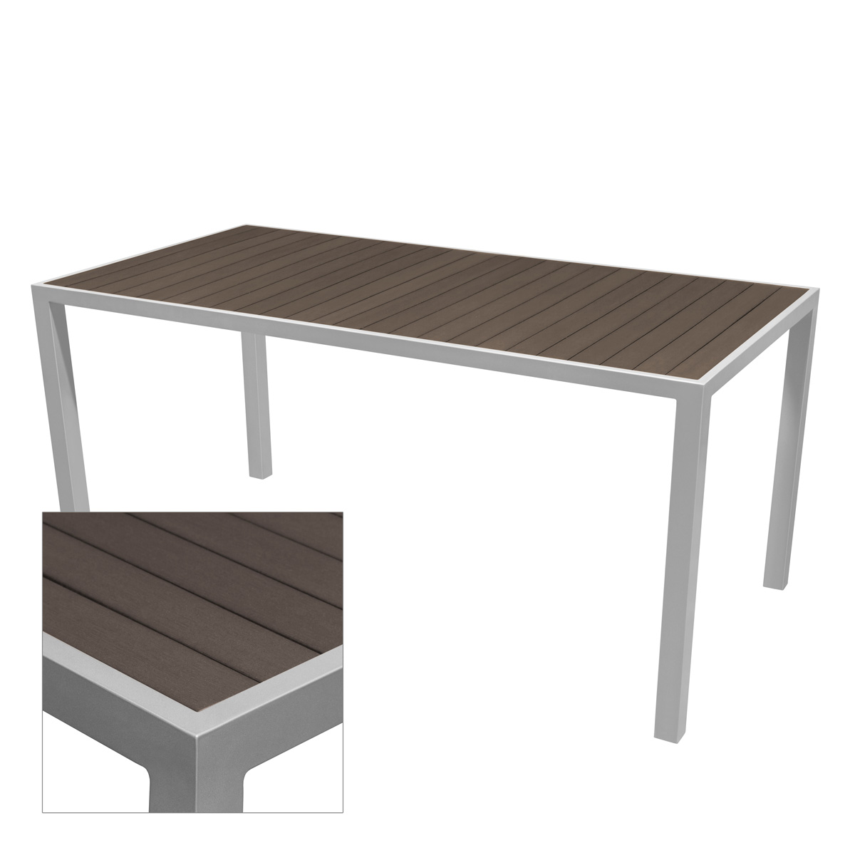 SANTA ROSA RECT TABLE BASES-SILVER RC2106-2113 $229.00-$1029.00 BAR HEIGHT $399.00-$1329.00 CLICK FOR SPEC SHEET