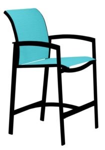 SLING BAR STOOL WITH ARMS 461126
