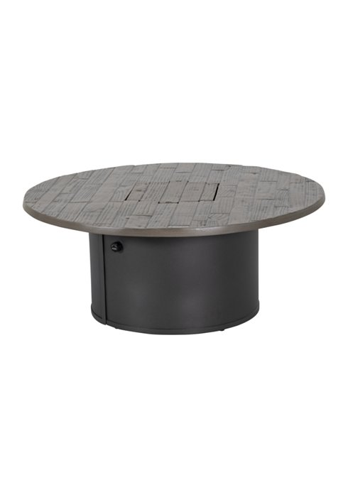 WOODPLANK 42″ RD FIRE PIT-18″ HEIGHT. ONLY AVAILABLE IN GPH/REA 492042FPL-18