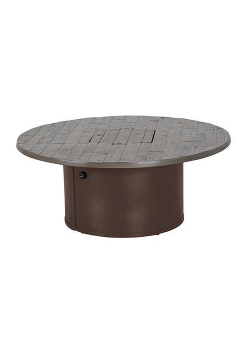 WOODPLANK 42″ RD FIRE PIT-24″ HEIGHT. ONLY AVAILABLE IN GPH/REA 492042FPL-24
