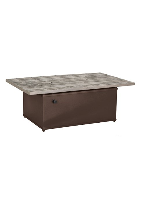 """WOOD PLANK 50″X30″"""" FIRE PIT-24″ HEIGHT. ONLY AVAILABLE IN GPH/REA 492053FPL-24"""